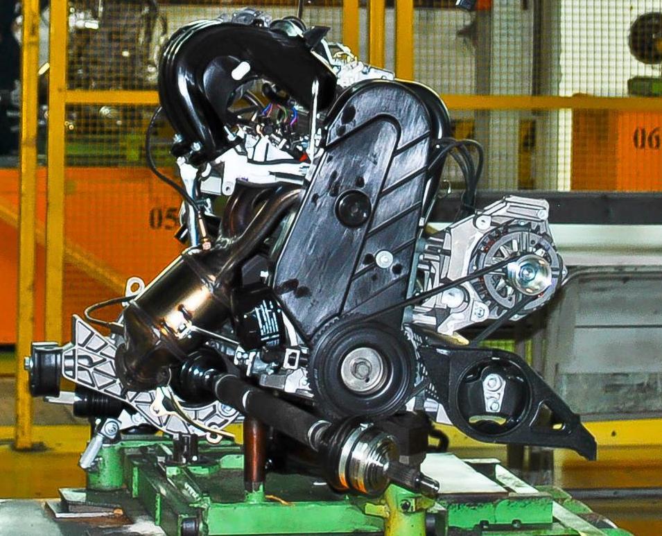 Фото двигателя лада гранта