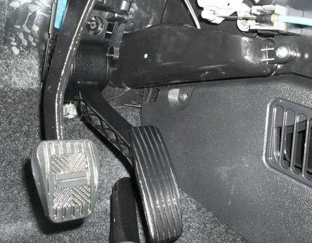Блок-схема электронной педали газа(Е-газ) .